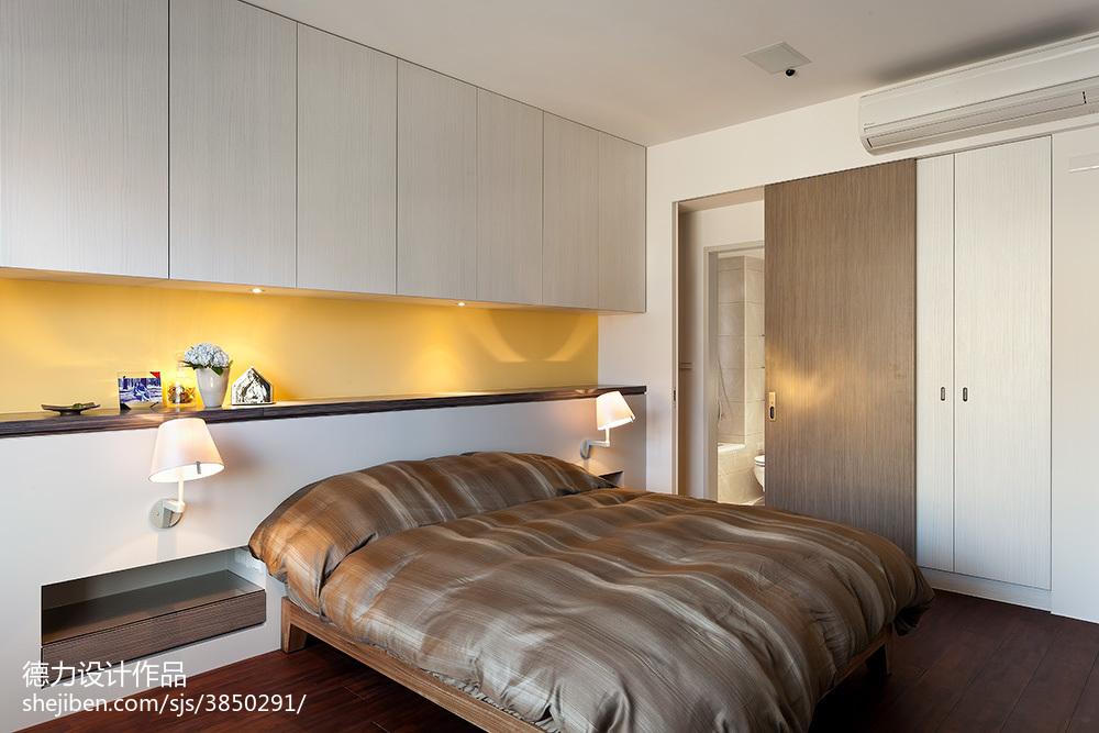 现代时尚风格卧室设计效果图