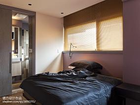 2018大小72平现代二居卧室装修图片大全