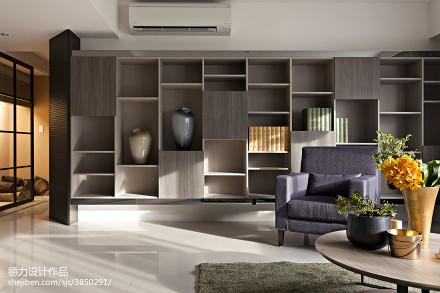2018精选84平方二居客厅现代效果图片