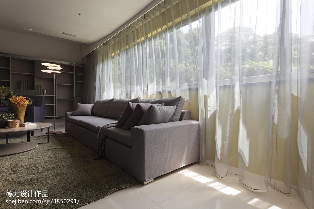 精美70平米二居客厅现代装修效果图片大全客厅窗帘现代简约客厅设计图片赏析