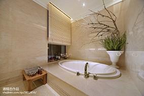 混搭风格浴室样板间设计