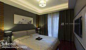 热门131平米中式复式卧室装饰图片大全
