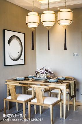 精美餐厅中式装修图