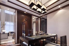 热门中式书房效果图片大全样板间中式现代家装装修案例效果图