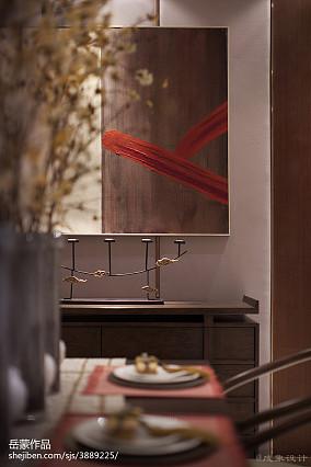 热门餐厅中式装修实景图片欣赏家装装修案例效果图