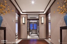 热门中式过道实景图片欣赏家装装修案例效果图