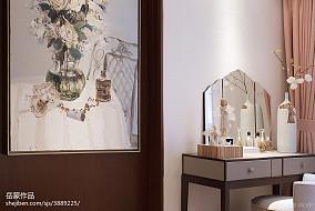 精美中式卧室效果图片大全样板间中式现代家装装修案例效果图