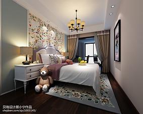 简美10平小卧室效果图