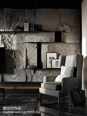 热门100平米三居客厅现代装修效果图片