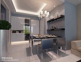 精美100平米三居餐厅现代装饰图