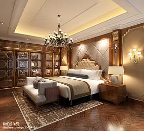 大小115平别墅卧室欧式欣赏图片别墅豪宅欧式豪华家装装修案例效果图
