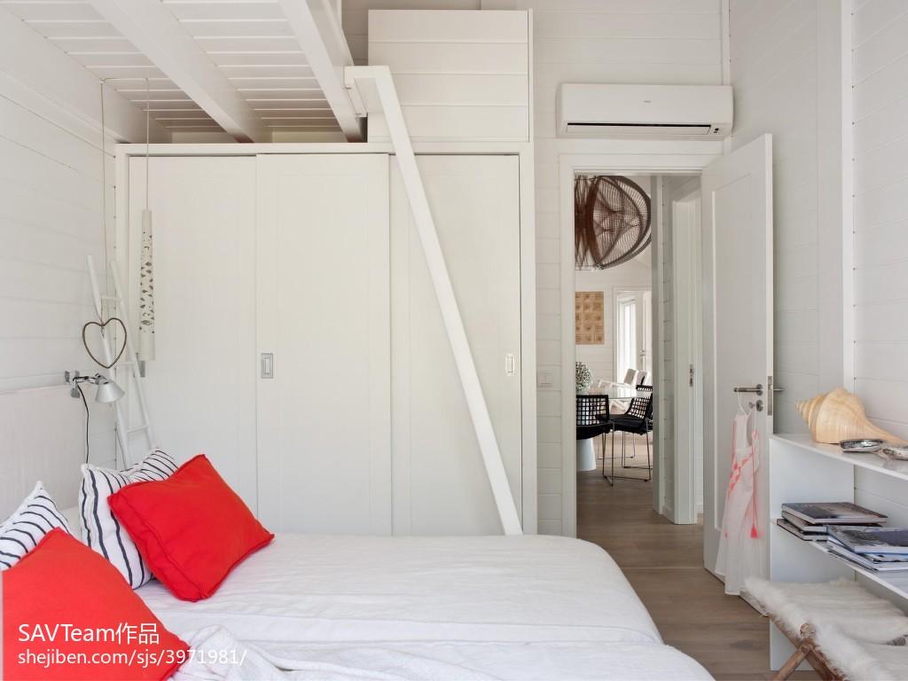 144平米四居卧室混搭实景图片欣赏卧室