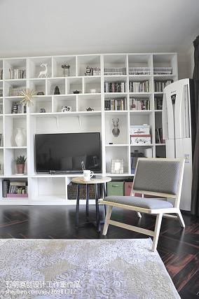 典雅89平现代二居休闲区装修装饰图