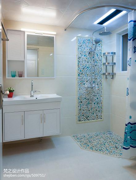 平米三居卫生间现代效果图片卫生间