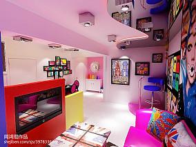 质朴35平混搭小户型客厅图片欣赏