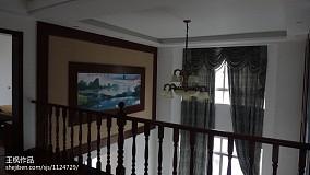 复古感二层小别墅户型图片
