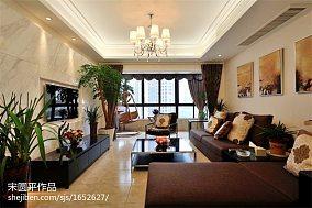 精选140平方四居客厅现代效果图片欣赏