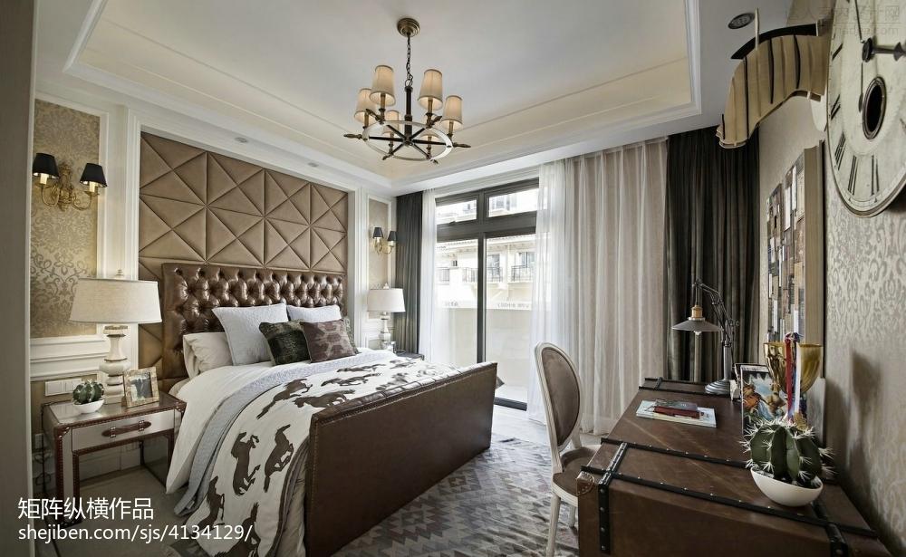 102.9平热门混搭卧室装修设计效果图片大全客厅