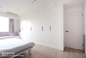 201887平米二居卧室混搭装修设计效果图片大全