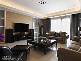 精选131平米四居客厅新古典装修实景图片欣赏