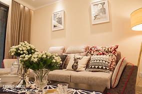 2018精选面积86平现代二居客厅装修设计效果图片客厅1图现代简约设计图片赏析