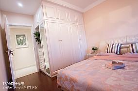 平方二居卧室现代实景图片大全卧室1图现代简约设计图片赏析
