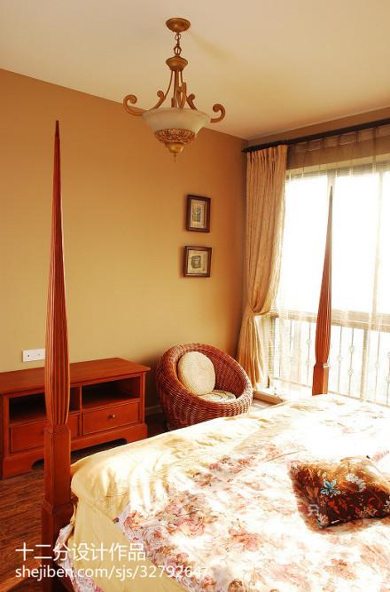 2018精选地中海复式卧室装修设计效果图片欣赏卧室
