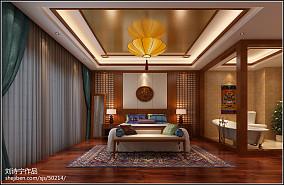 中式家装玄关效果图