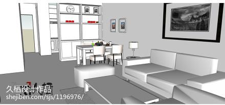 典雅66平地中海二居客厅装修图客厅
