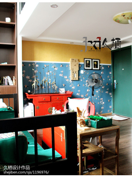 2018中式别墅客厅装修实景图片欣赏客厅