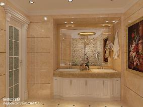 热门125平米欧式复式卫生间装修效果图
