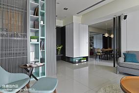 2018面积130平混搭四居客厅装修设计效果图