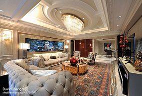 77.3平客厅混搭装饰图片欣赏