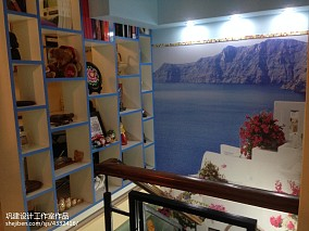 小户型客厅阳光的味道 地中海风格家
