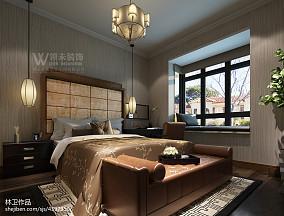 中式卧室样板房