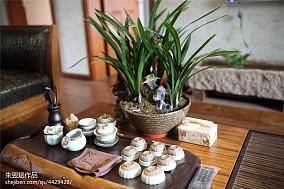 热门二居客厅东南亚实景图片欣赏