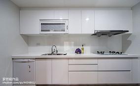 精美面积90平新古典三居厨房效果图片