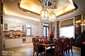 热门新古典餐厅装修效果图片大全