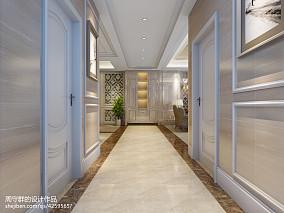 热门133平米欧式别墅过道实景图片欣赏