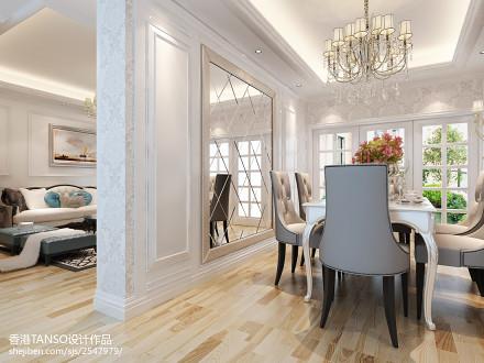 精选面积140平欧式四居餐厅装修设计效果图片厨房