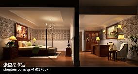 现代田园风格室内客厅图片
