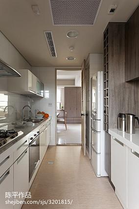 精美面积78平现代二居厨房装修效果图片欣赏