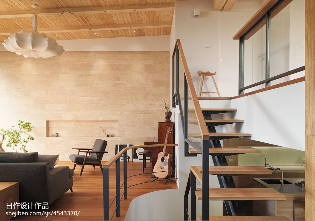 精美室内楼梯装修图片欣赏功能区潮流混搭功能区设计图片赏析