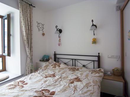 典雅68平地中海二居卧室装修装饰图卧室
