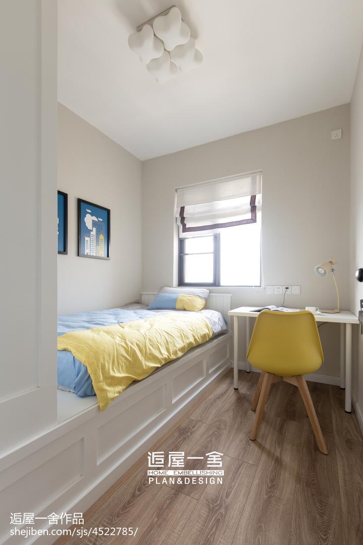 小户型欧式儿童房窗户装修设计卧室欧式豪华卧室设计图片赏析