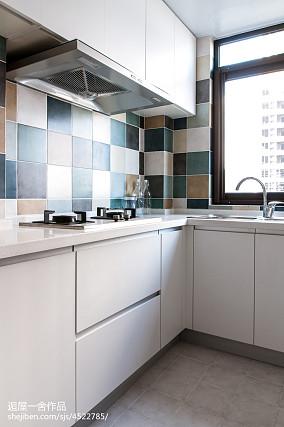 小户型欧式厨房装修设计一居欧式豪华家装装修案例效果图