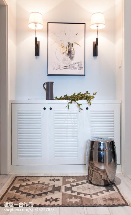 小户型欧式风格玄关鞋柜设计玄关