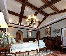 精美110平米地中海别墅卧室装修效果图片欣赏