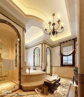 热门地中海别墅卫生间装饰图片