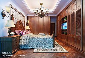 120平米四居卧室美式欣赏图